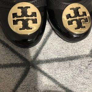 Tory Burch Shoes - Black Tory Burch Reva Ballet Flats